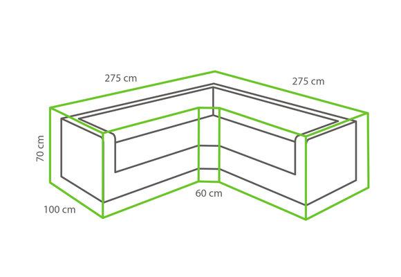 Outdoor Covers Loungeset beschermhoes | Trapezium | 275/100x275/100x70cm