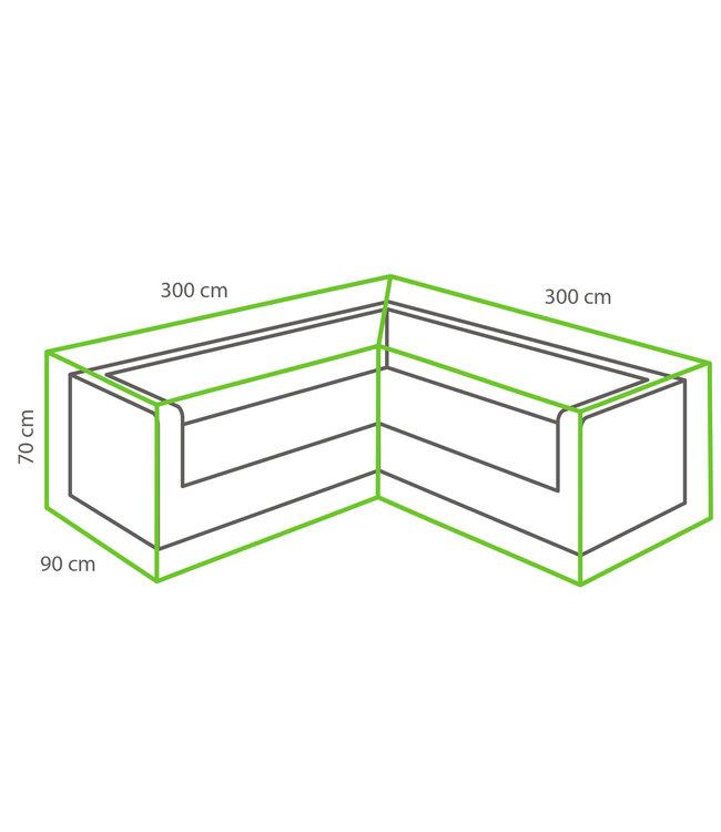 Outdoor Covers Outdoor Covers Loungeset beschermhoes | L-vorm | 300/90x300/90x70cm