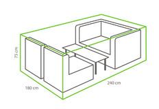 Outdoor Covers Loungeset beschermhoes | 240x180x75cm