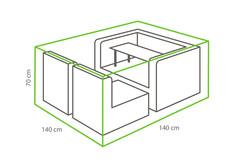 Outdoor Covers Loungeset beschermhoes | 140x140x70cm