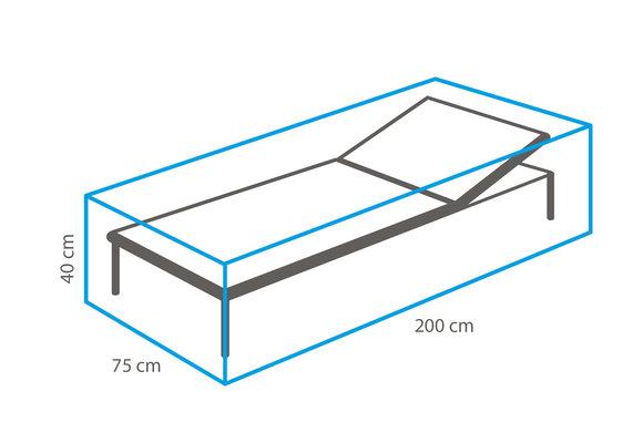 Outdoor Covers Ligbed beschermhoes | 200x75x40cm