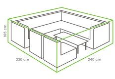 Outdoor Covers Loungeset beschermhoes | 240x235x105cm