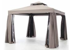 Madison Dakdoek paviljoen/partytent Milaan | Taupe | 300x400cm