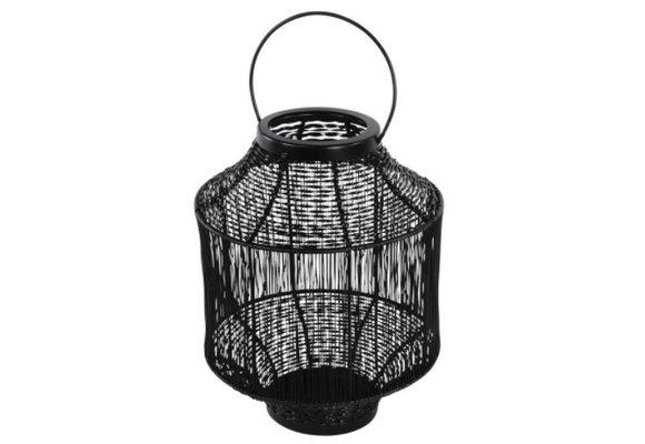 Lantaarn Wire ø20x26cm | Black | Lesli Living
