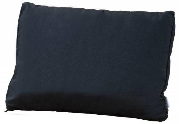 Pure Luxe Loungekussen | Panama Black | 60x40cm