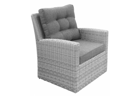 Lounge Dining stoel Dublin | Mystic Grey | Wicker