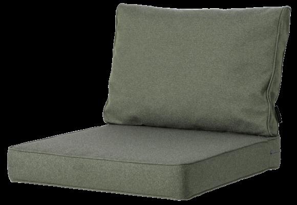 Madison Luxe Loungekussens | Outdoor Manchester Green | 60x60 + 60x40cm | Extra dik