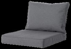 Madison Luxe Outdoor Loungekussens | 73x73 + 73x40cm | Extra dik