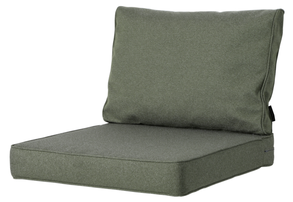 Madison Luxe Loungekussens | Outdoor Manchester Green | 73x73 + 73x40cm | Extra dik