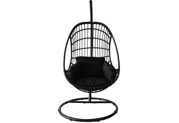 Hangstoel Hermanus | Swing Egg | Black