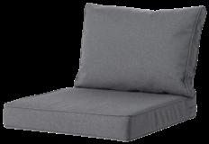Madison Luxe Outdoor Loungekussens | 4 SETS | 73x73 + 73x40cm | Extra dik