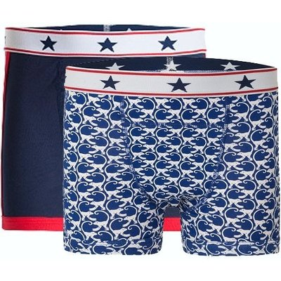 UnderWunder Boys boxer blue/monkey (price per 2)