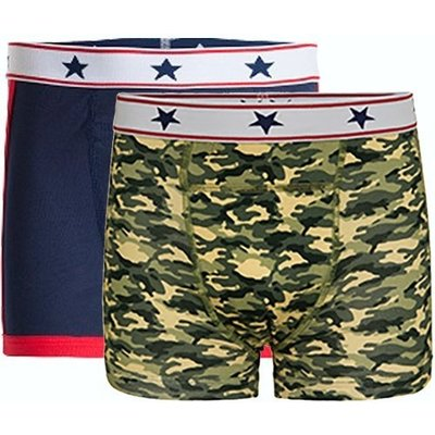 UnderWunder Boys boxer blue/camouflage (price per 2)