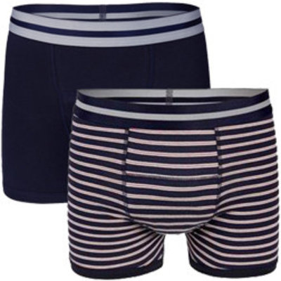 UnderWunder Men's Boxer blue/ stripes (set of 2)
