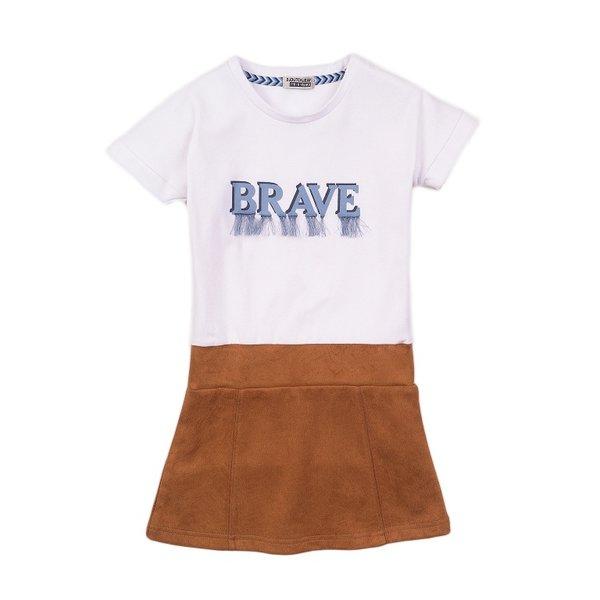 Girls | 2 pce set dress + T-shirt | DJ Dutchjeans