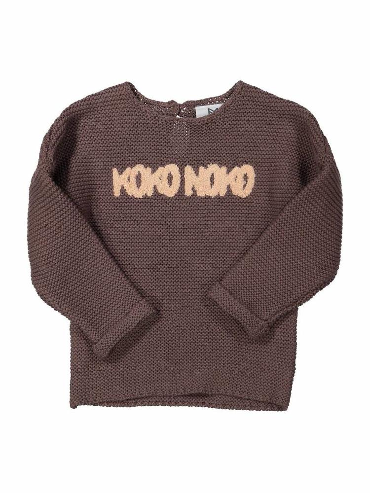Girls sweater with logo Koko Noko | 37Z-29904