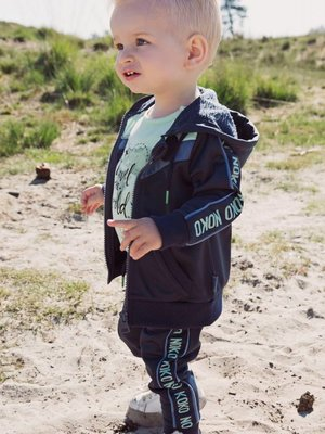 Boys vest navy blue