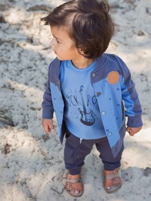 Boys vest denim blue