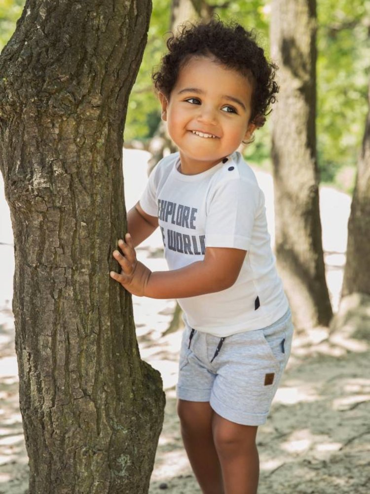 Boys 2-piece set with shorts and T-shirt | 37A-30837