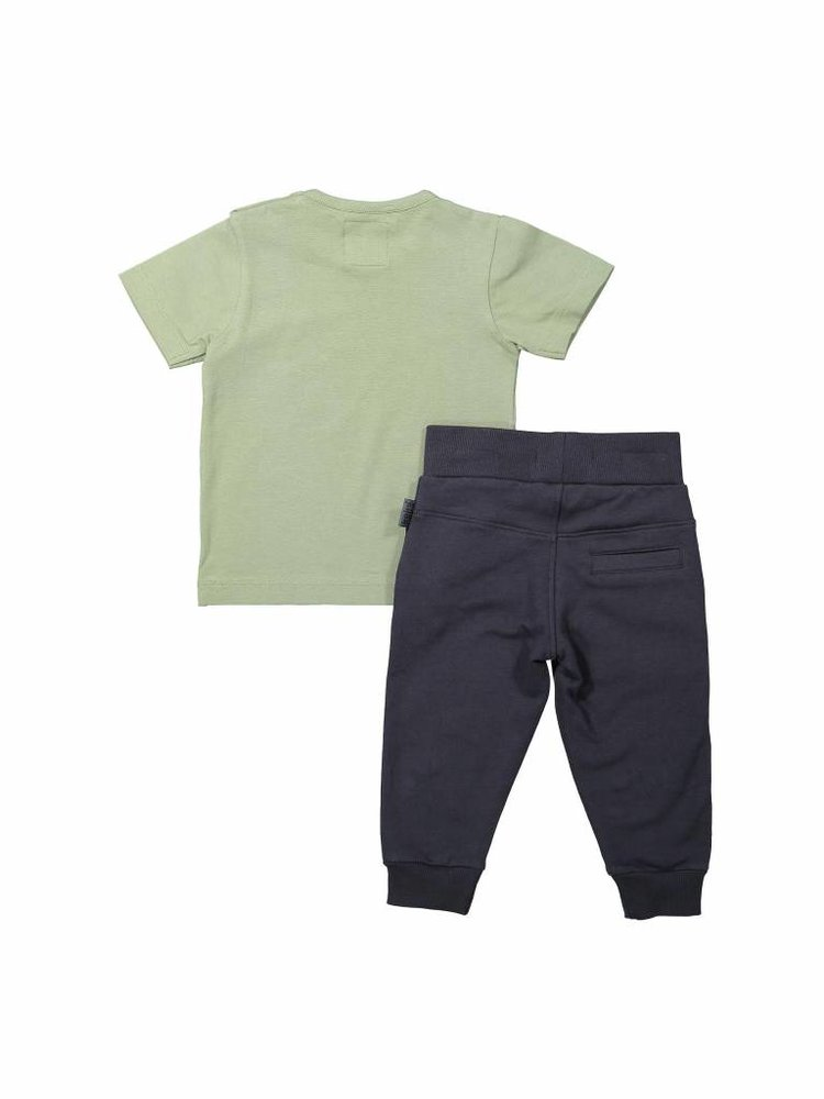 Boys 2-piece set with sweatpants and T-shirt | 37A-30843