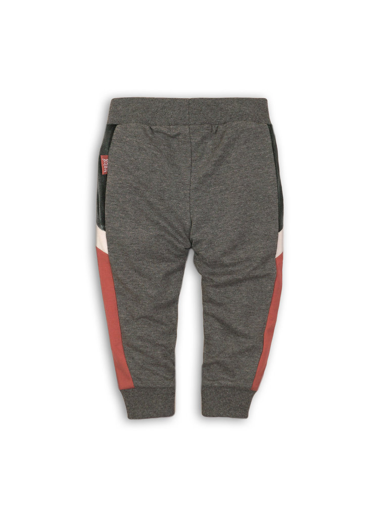 Girls jogging pants mid gray | 37B-32902