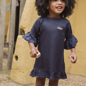 Girls dress dark blue