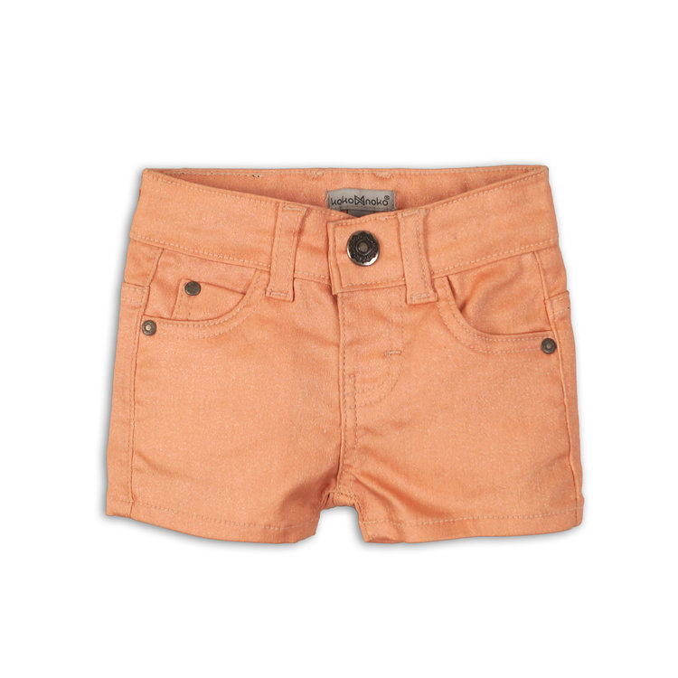 Girls jeans shorts pink | 37C-34954