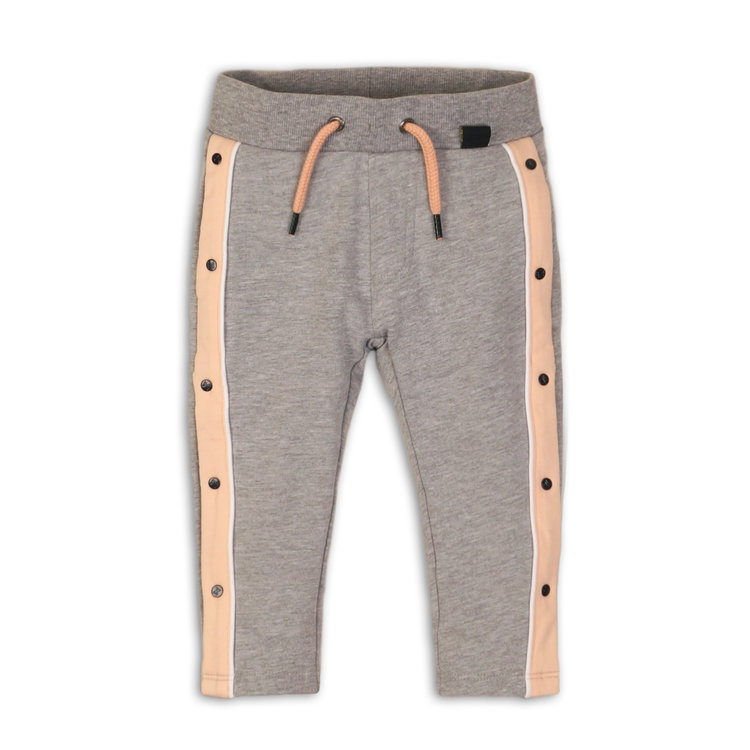 Girls jogging pants gray | 37C-34947