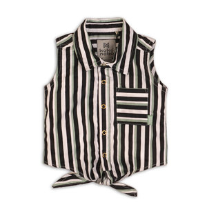 Girls blouse stripe