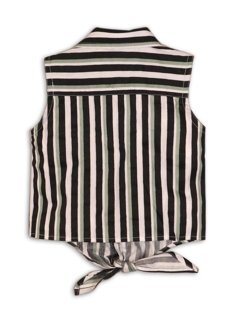 Meisjes blouse streep | 37C-34931
