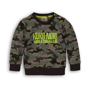 Boys sweater army