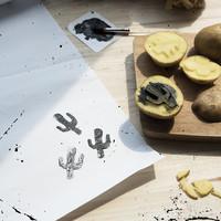 Maak je eigen aardappelstempels