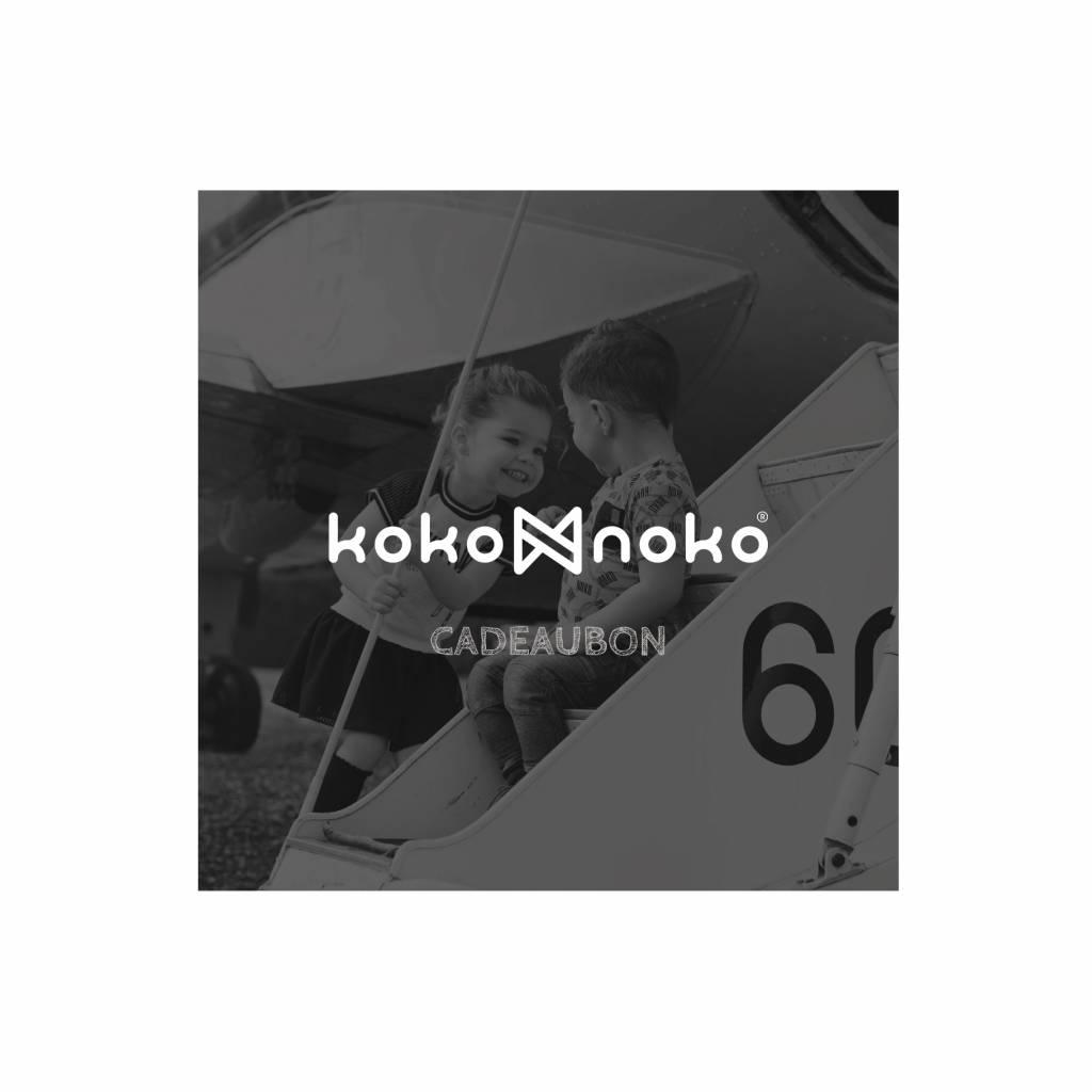 Koko Noko Cadeaubon Zwart