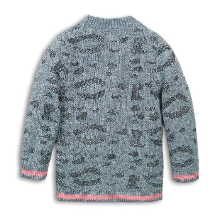 Girls vest gray with glitter | D36947-37