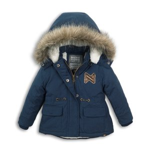 Girls jacket parka blue
