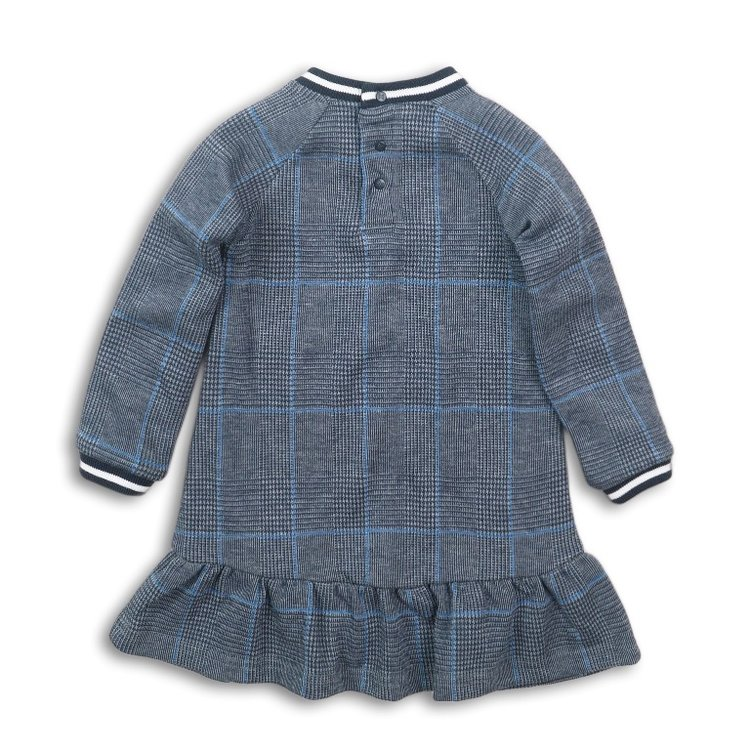 Girls dress gray diamond | D36924-37
