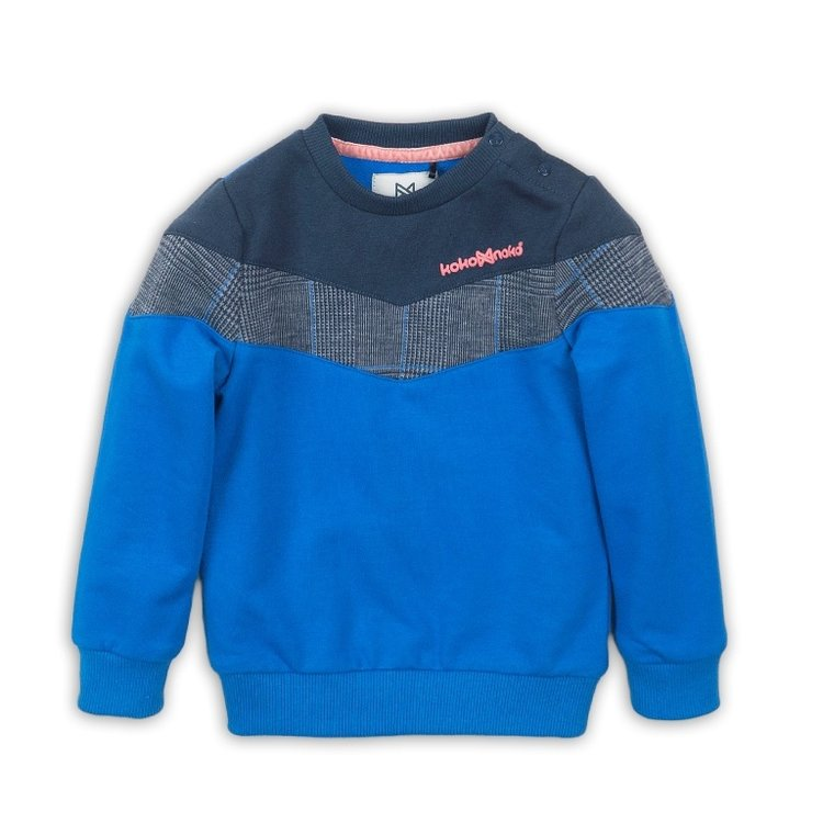 Girls sweater blue | D36922-37