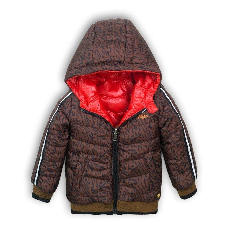 Girls jacket red reversible   D36918-37