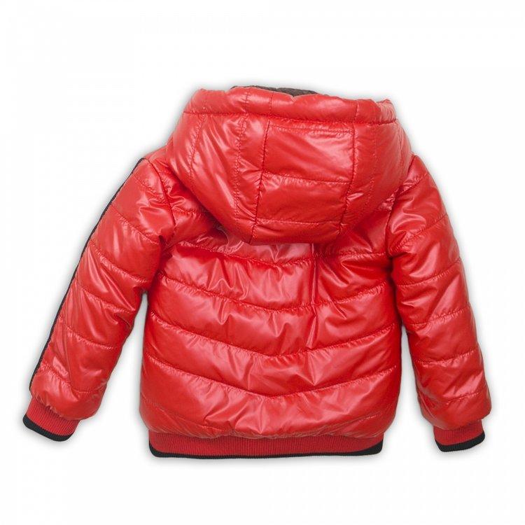Meisjes jas rood reversible | D36918-37