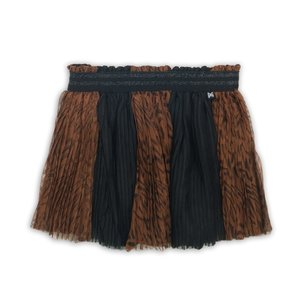 Girls tulle skirt with print