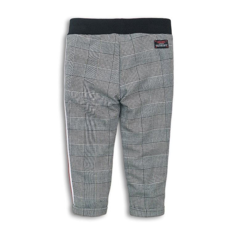 Girls trousers checked with cover | D36902-37