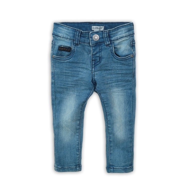 Boys jeans blue with logo label | D36861-37
