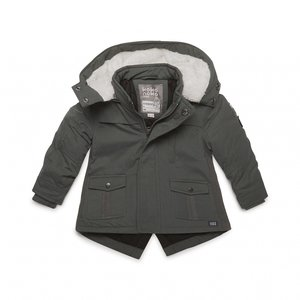 Boys parka jacket green