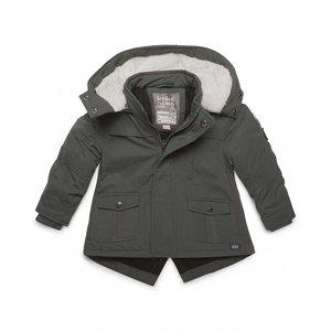 Parka-Jacke für Jungen Grün