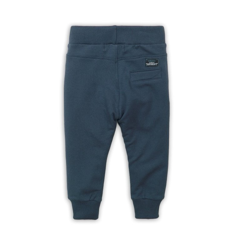 Boys jogging pants blue with track | D36802-37