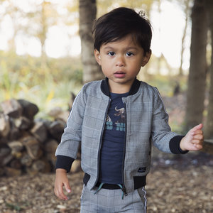 Boys cardigan diamond