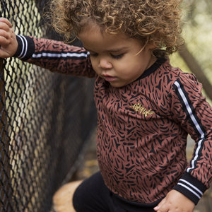 Girls sweater brown