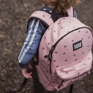 Girls backpack pink