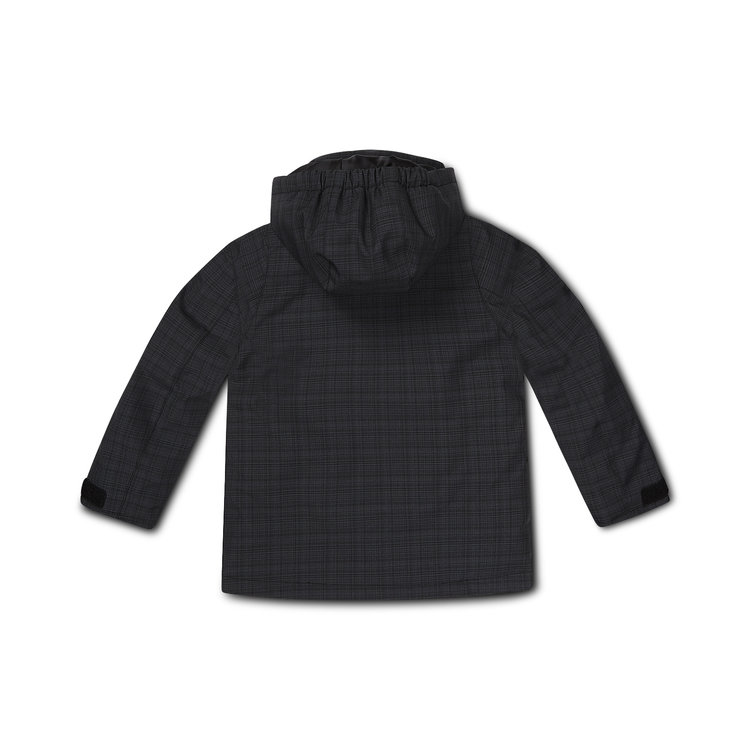 Boys jacket dark gray check | D36992-37