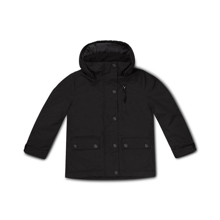 Jongens jas zwart | D36993-37